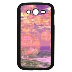Glorious Skies, Abstract Pink And Yellow Dream Samsung Galaxy Grand Duos I9082 Case (black) by DianeClancy
