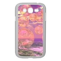 Glorious Skies, Abstract Pink And Yellow Dream Samsung Galaxy Grand Duos I9082 Case (white) by DianeClancy