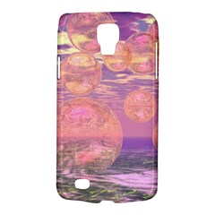 Glorious Skies, Abstract Pink And Yellow Dream Samsung Galaxy S4 Active (i9295) Hardshell Case by DianeClancy
