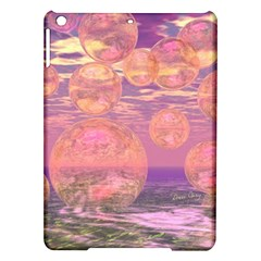 Glorious Skies, Abstract Pink And Yellow Dream Apple Ipad Air Hardshell Case by DianeClancy