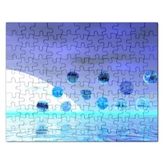 Moonlight Wonder, Abstract Journey To The Unknown Jigsaw Puzzle (rectangle) by DianeClancy