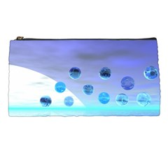 Moonlight Wonder, Abstract Journey To The Unknown Pencil Case by DianeClancy