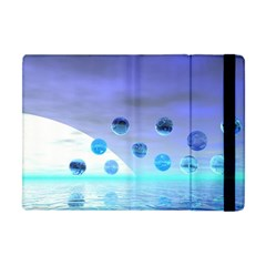 Moonlight Wonder, Abstract Journey To The Unknown Apple Ipad Mini Flip Case by DianeClancy