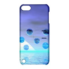 Moonlight Wonder, Abstract Journey To The Unknown Apple Ipod Touch 5 Hardshell Case With Stand by DianeClancy