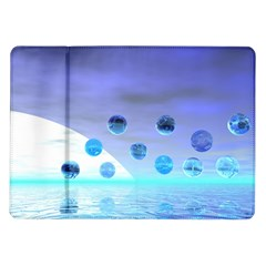 Moonlight Wonder, Abstract Journey To The Unknown Samsung Galaxy Tab 10 1  P7500 Flip Case by DianeClancy