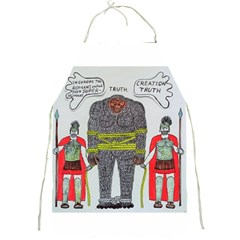 Big Foot 2 Romans Apron by creationtruth