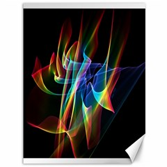 Aurora Ribbons, Abstract Rainbow Veils  Canvas 36  X 48  (unframed) by DianeClancy