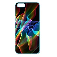Aurora Ribbons, Abstract Rainbow Veils  Apple Seamless Iphone 5 Case (color) by DianeClancy