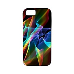 Aurora Ribbons, Abstract Rainbow Veils  Apple Iphone 5 Classic Hardshell Case (pc+silicone) by DianeClancy