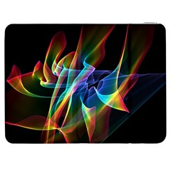 Aurora Ribbons, Abstract Rainbow Veils  Samsung Galaxy Tab 7  P1000 Flip Case by DianeClancy