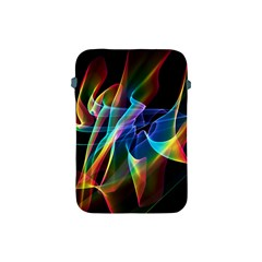 Aurora Ribbons, Abstract Rainbow Veils  Apple Ipad Mini Protective Sleeve by DianeClancy