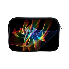 Aurora Ribbons, Abstract Rainbow Veils  Apple Ipad Mini Zippered Sleeve by DianeClancy