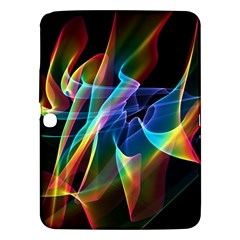 Aurora Ribbons, Abstract Rainbow Veils  Samsung Galaxy Tab 3 (10 1 ) P5200 Hardshell Case  by DianeClancy
