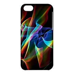 Aurora Ribbons, Abstract Rainbow Veils  Apple Iphone 5c Hardshell Case by DianeClancy