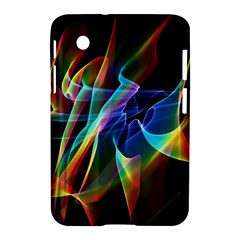 Aurora Ribbons, Abstract Rainbow Veils  Samsung Galaxy Tab 2 (7 ) P3100 Hardshell Case  by DianeClancy