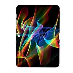 Aurora Ribbons, Abstract Rainbow Veils  Samsung Galaxy Tab 2 (10 1 ) P5100 Hardshell Case  by DianeClancy