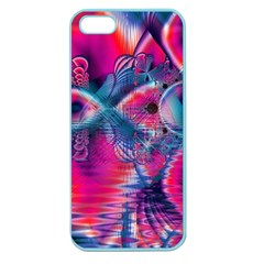 Cosmic Heart Of Fire, Abstract Crystal Palace Apple Seamless Iphone 5 Case (color)