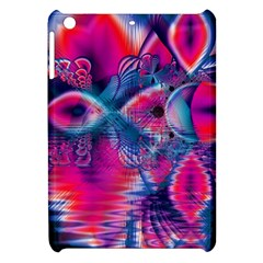 Cosmic Heart Of Fire, Abstract Crystal Palace Apple Ipad Mini Hardshell Case by DianeClancy