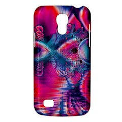Cosmic Heart Of Fire, Abstract Crystal Palace Samsung Galaxy S4 Mini (gt I9190) Hardshell Case  by DianeClancy