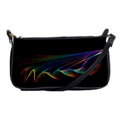 Flowing Fabric Of Rainbow Light, Abstract  Evening Bag by DianeClancy