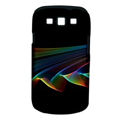 Flowing Fabric Of Rainbow Light, Abstract  Samsung Galaxy S Iii Classic Hardshell Case (pc+silicone) by DianeClancy