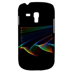 Flowing Fabric Of Rainbow Light, Abstract  Samsung Galaxy S3 Mini I8190 Hardshell Case by DianeClancy