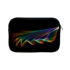 Flowing Fabric Of Rainbow Light, Abstract  Apple Ipad Mini Zippered Sleeve by DianeClancy