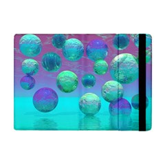 Ocean Dreams, Abstract Aqua Violet Ocean Fantasy Apple Ipad Mini Flip Case by DianeClancy