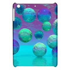 Ocean Dreams, Abstract Aqua Violet Ocean Fantasy Apple Ipad Mini Hardshell Case by DianeClancy