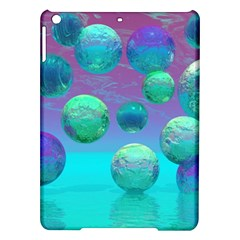 Ocean Dreams, Abstract Aqua Violet Ocean Fantasy Apple Ipad Air Hardshell Case by DianeClancy