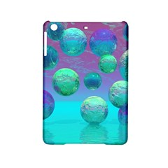 Ocean Dreams, Abstract Aqua Violet Ocean Fantasy Apple Ipad Mini 2 Hardshell Case by DianeClancy