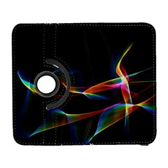 Fluted Cosmic Rafluted Cosmic Rainbow, Abstract Winds Samsung Galaxy S  Iii Flip 360 Case by DianeClancy