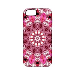 Twirling Pink, Abstract Candy Lace Jewels Mandala  Apple Iphone 5 Classic Hardshell Case (pc+silicone)