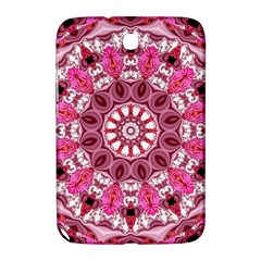 Twirling Pink, Abstract Candy Lace Jewels Mandala  Samsung Galaxy Note 8 0 N5100 Hardshell Case