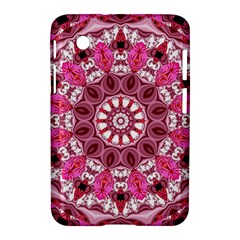 Twirling Pink, Abstract Candy Lace Jewels Mandala  Samsung Galaxy Tab 2 (7 ) P3100 Hardshell Case