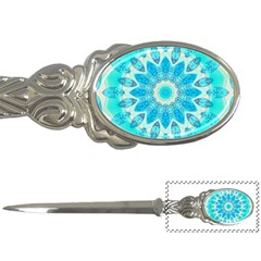 Blue Ice Goddess, Abstract Crystals Of Love Letter Opener