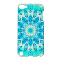 Blue Ice Goddess, Abstract Crystals Of Love Apple Ipod Touch 5 Hardshell Case