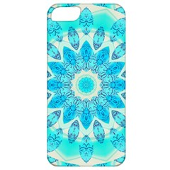 Blue Ice Goddess, Abstract Crystals Of Love Apple Iphone 5 Classic Hardshell Case