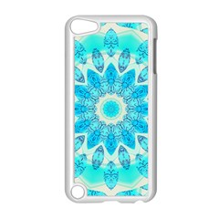 Blue Ice Goddess, Abstract Crystals Of Love Apple Ipod Touch 5 Case (white) by DianeClancy