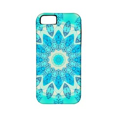 Blue Ice Goddess, Abstract Crystals Of Love Apple Iphone 5 Classic Hardshell Case (pc+silicone)