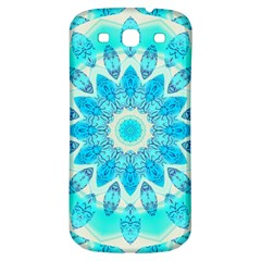 Blue Ice Goddess, Abstract Crystals Of Love Samsung Galaxy S3 S Iii Classic Hardshell Back Case
