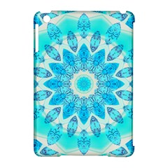 Blue Ice Goddess, Abstract Crystals Of Love Apple Ipad Mini Hardshell Case (compatible With Smart Cover)