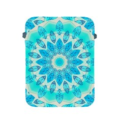 Blue Ice Goddess, Abstract Crystals Of Love Apple Ipad Protective Sleeve