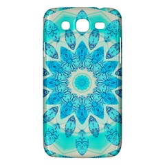 Blue Ice Goddess, Abstract Crystals Of Love Samsung Galaxy Mega 5 8 I9152 Hardshell Case