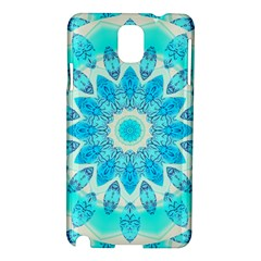 Blue Ice Goddess, Abstract Crystals Of Love Samsung Galaxy Note 3 N9005 Hardshell Case by DianeClancy
