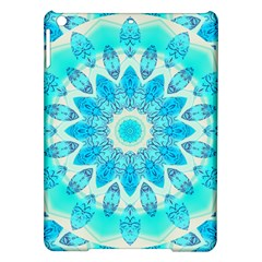Blue Ice Goddess, Abstract Crystals Of Love Apple Ipad Air Hardshell Case by DianeClancy