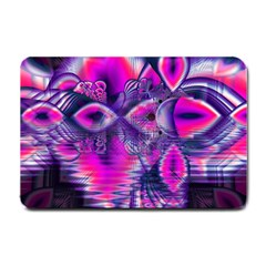 Rose Crystal Palace, Abstract Love Dream  Small Door Mat by DianeClancy