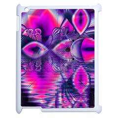 Rose Crystal Palace, Abstract Love Dream  Apple Ipad 2 Case (white) by DianeClancy