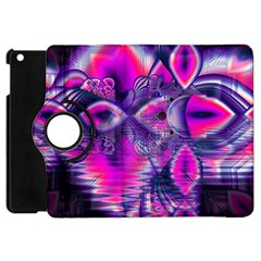 Rose Crystal Palace, Abstract Love Dream  Apple Ipad Mini Flip 360 Case by DianeClancy