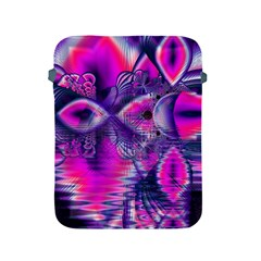 Rose Crystal Palace, Abstract Love Dream  Apple Ipad Protective Sleeve by DianeClancy